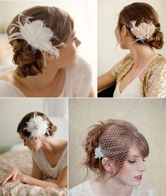 Plum Tree Weddings | Wedding blog featuring simple stylish modern wedding ideas: Midweek Etsy Find - Lo Boheme Bridal Accessories