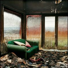 Ans Westra - Fire, 32 Highbury Rd, 2001 Colour Photography, Female Photographers, Fire, Contemporary, Furniture, Home Decor, Women, Pictures, Decoration Home