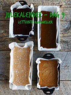 MIKROBØLGE KARAMELLER - Julekalender dag 9 - Mat På Bordet Christmas Sweets, Christmas Baking, Real Food Recipes, Snack Recipes, Homemade Sweets, Edible Gifts, Homemade Christmas Gifts, Vegan Snacks, Monster Cupcakes