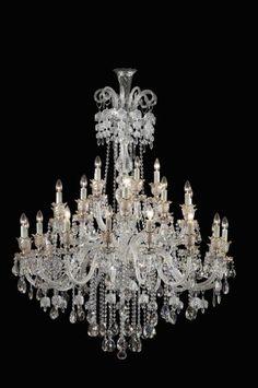 30 branch chandelier