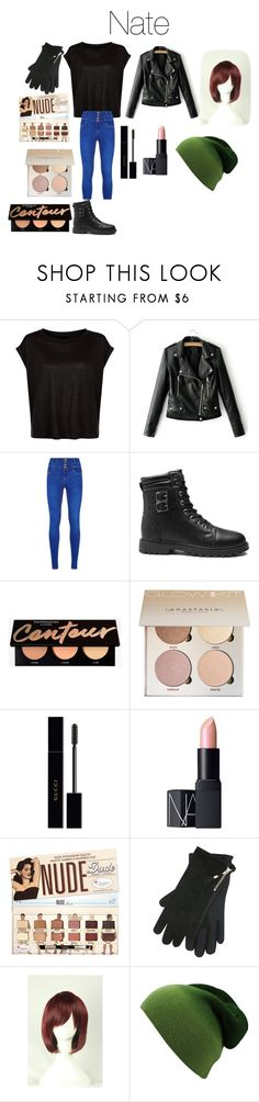"""""""Nate from Disney's Gravity Falls"""" by tori-camilleri on Polyvore featuring Gucci, NARS Cosmetics, M&Co and WithChic"""