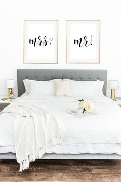 Mr and Mrs. wall art, Mr and Mrs, Love wall art, couple wall art, wedding signs, wedding prints, couple prints, Mr Mrs.