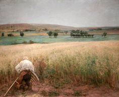 "Jules Bastien-Lepage  ""The Ripened Wheat"""