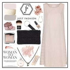 """Justfashion.no (8)"" by gaby-mil ❤ liked on Polyvore featuring Bare Escentuals, Hourglass Cosmetics, NYX, OPI, Bobbi Brown Cosmetics, dress and JustFashion"