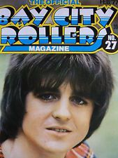 THE OFFICIAL BAY CITY ROLLERS MAGAZINE - NO 27 FEB 1977