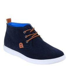 Look what I found on #zulily! Navy Chase Chukka Sneaker #zulilyfinds