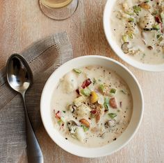 This ultra-creamy chowder is packed with plump oysters and tender fingerling potatoes, along with extra-smoky Benton's bacon.