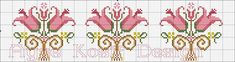 This Pin was discovered by ayş Cross Stitch Borders, Cross Stitch Patterns, Cross Stitch Embroidery, Hand Embroidery, Knitting Charts, Pixel Art, Needlepoint, Diy And Crafts, Crafty