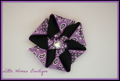 $4 on a clip but can be put on a headband for $5 plus shipping. You can order by sending me a message or comment under the photos on my fb page. www.facebook.com/littlewomenbowtique