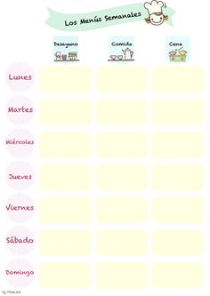 IMPRIMIBLE PARA ORGANIZAR EL MENÚ SEMANAL FÁCIL Y SANAMENTE / WEEKLY MEAL PLANNING FREEBIE  / ASTEKO MENUEN ANTOLAKUNTZA BY PITIS&LILUS EUSKERA_CASTELLANO_ENGLISH