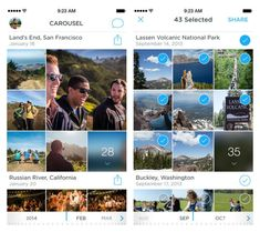 Carousel by Dropbox app: This could be the photo storage/sharing solution we've all been looking for.