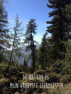De natuur...