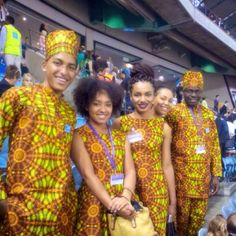 Melbourne International Convention of Jehovah's Witnesses 2014. Beautiful family originally from Nigeria, picture by Jacinta