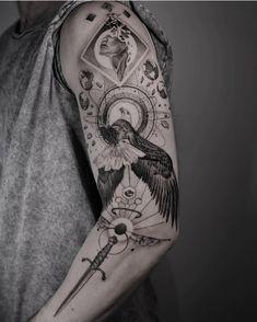 "Pardon Paris on Instagram: ""2021 - @maxe_brother - … . . . #pardonparis #finelinetattoo #finelinetattoos #tattooinspiration #tattooideas #tattooaddict #tattoo…"" Michelangelo Tattoo, Sleeve Tattoos, Tattoo Sleeves, Tattoo Inspiration, Tattoo Studio, Tatting, Ink, Photo And Video, Instagram"