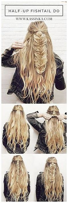 100 Super Easy DIY Braided Hairstyles for Wedding Tutorials  #SimpleBraidedHair  #SimpleHairdo click now to see more...