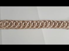 Diadema - Vincha A Crochet En 3D Con Circulos Trenzados - punto infinito a crochet - YouTube