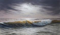 Kai Fine Art is an art website, shows painting and illustration works all over the world. Beautiful Landscape Paintings, All Over The World, Sea Shells, Waves, Ocean, Fine Art, Illustration, Artist, Photography