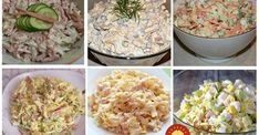 7 nesmrtelných salátů z dob socialismu, které dnes v obchodech nekoupíte Vegetarian Recipes, Cooking Recipes, Potato Salad, Salads, Grains, Food And Drink, Rice, Treats, Ethnic Recipes