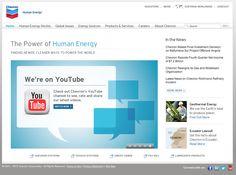 Chevron Corporation Home - Human Energy    (via http://www.chevron.com/ )