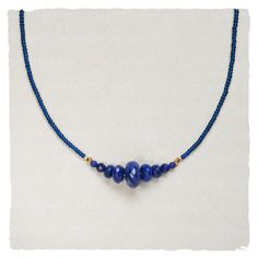 Necklaces - Royal Blue Necklace