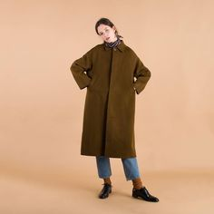 "1,390 Likes, 7 Comments - Olive | Contemporary Lifestyle (@oliveclothing) on Instagram: ""Found your winter coat yet? Our Round Collar Handmade Coat is a wool mix so even in the dead of…"""