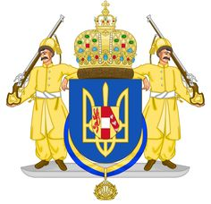 CoA Ukrainian Hetmanate (Central Victory) by TiltschMaster