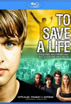 To Save A Life - Christian Movie/Film on Blu-ray. Jake is the most popular kid in school and has a promising future, but his world is rocked when tragedy strikes his childhood best friend.  http://www.christianfilmdatabase.com/review/to-save-a-life/