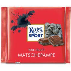Ritter Sport Fake Sorte - matschig
