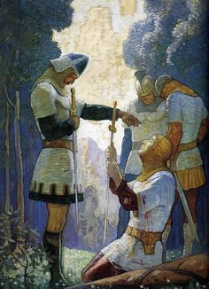 Death of Orlando, N.C. Wyeth