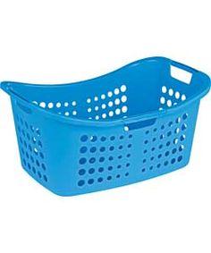 ColourMatch Laundry Basket - Fiesta Blue.