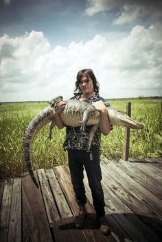 Norman Reedus Fotoshooting The Red Bulletin