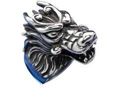 Sterling Silver 25mm Dragon Ring Mixed Sizes Dragon Ring, Butterfly Jewelry, Stainless Steel Jewelry, Size Chart, Silver Jewelry, Statue, Jewellery, Sterling Silver, Rings