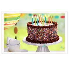 Youre A Blessing Birthday Cake Ecard Joy American Greetings