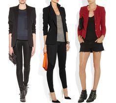 como vestir de negro, pantalon negro, sueter negro, blazer negro, chaqueta negra, ropa femenina, ropa de mujer, tendencias moda, trends, fas...