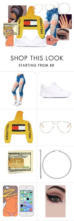 """""""Trillfiger B"""" by xx-babyyy on Polyvore featuring NIKE, Chloé and Concrete Minerals"""