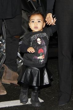 North West. Shes so adorable x