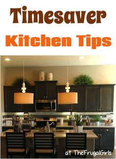 14 Favorite Kitchen Timesaver Tips! ~ at TheFrugalGirls.com - you'll love these creative kitchen time savers and ideas! #thefrugalgirls