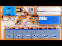 This video is about the basic solar parts needed for a DIY Camper Van or RV Solar Install. Cargo Trailer Conversion, Sprinter Van Conversion, Camper Van Conversion Diy, Popup Camper, Diy Camper, Truck Camper, Transformers, Ford Transit Campervan, Rv Solar Panels