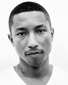 Pharrell Williams by Dan Martensen Pharrell Williams, Black And White Portraits, Black White Photos, Britney Spears, Hip Hop Instrumental, Famous Faces, Eminem, Beautiful People, Beautiful Men