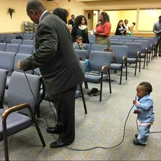 Training up a JW boy from Infancy in New Jersey, USA (he loves to help his grandfather)