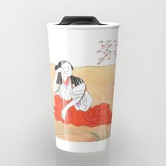 Self-portrait as a Chinese Travel Mug