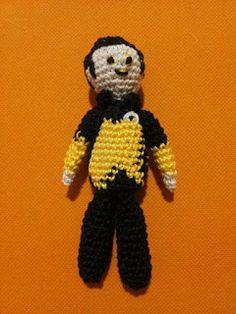 Data Star Trek The Next Generation . amigurumi crochet