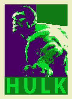 Hulk in fourth
