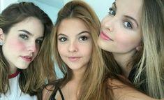 Giovanna Chaves, Maria Brasil e Júlia Gomes❤