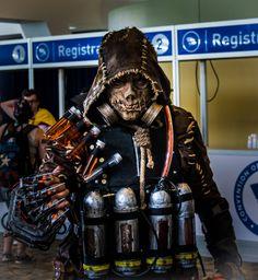 Arkham Night Scarecrow cosplay