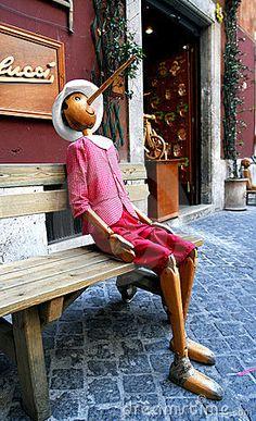 Rome, Italy Pinocchio
