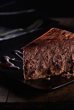 Chocolate cheesecake. #desserts #cheesecake
