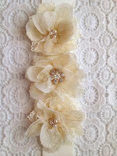 flower sash, flower girl sash,wedding sash , bridesmaids sash,rustic wedding sash