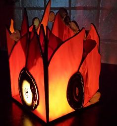 Stained Glass, Tiffany, Wax, Candle Holders, Table Lamp, Lighting, Cards, Decor, Candlesticks