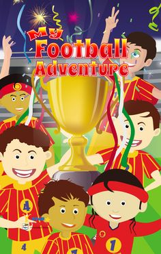 New Arrivals! Our new #personalised #books will be here soon! Make your #kids #happy with the new #colourful images and #funny stories!  My #Football #Adventure